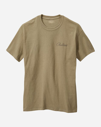 MEN'S YELLOWSTONE PARK TEE IN OLIVE