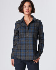 ESSENTIAL PLAID SHIRT JAC, BLUE/DARK GREY PLAID, large