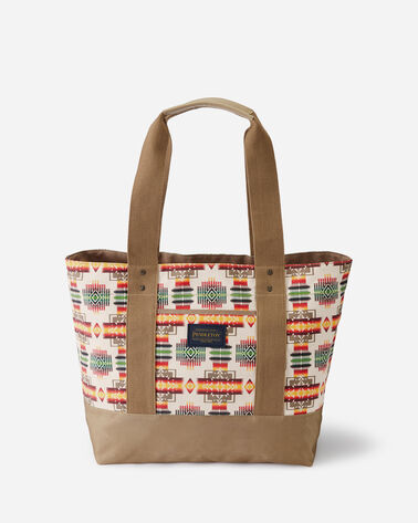 CHIEF JOSEPH CANOPY CANVAS TOTE, IVORY, large