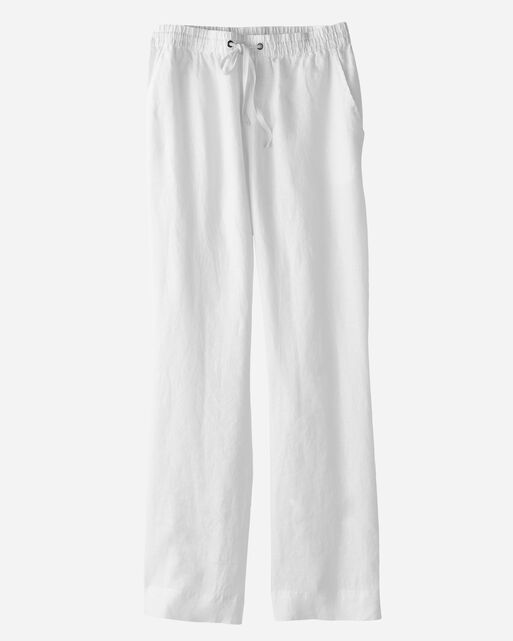 SHORE LINEN PANTS, , large