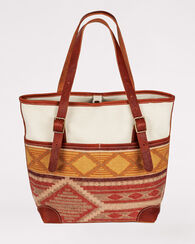 CEDAR MOUNTAIN UTILITY TOTE, IVORY MULTI, large