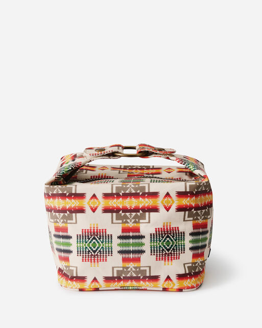CHIEF JOSEPH CANOPY CANVAS COSMETIC CASE IN IVORY