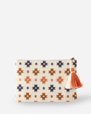 ALTERNATE VIEW OF SWEET WATER COTTON ZIP POUCH IN MULTI