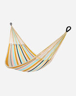 HANDCRAFTED HAMMOCK IN MOJAVE/BLUE