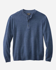 MERINO MAGIC-WASH HENLEY, NAVY, large