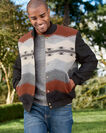 ADDITIONAL VIEW OF MEN'S GORGE WOOL JACKET IN MESA DAWN BLACK