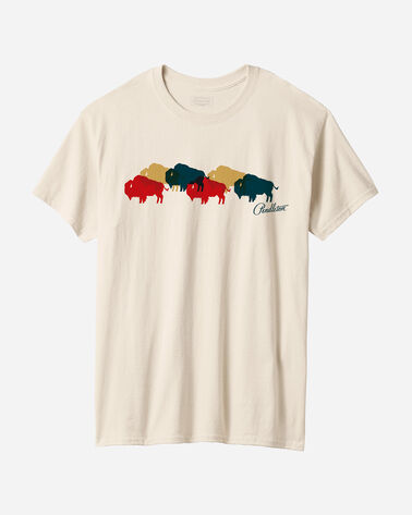 MEN'S MULTI BUFFALO GRAPHIC TEE