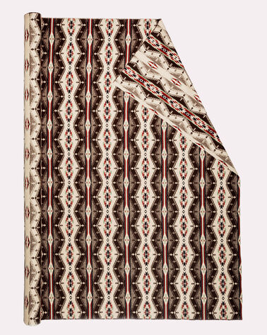 SPIRIT OF THE PEOPLES FABRIC, BROWN MULTI, large