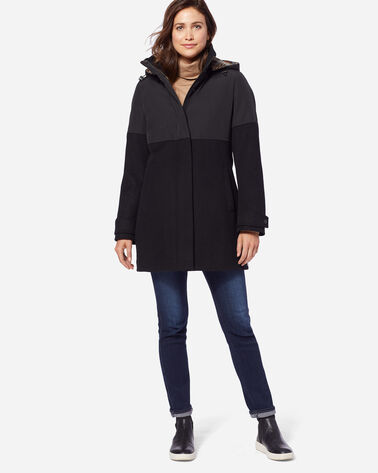 PENDLETON SIGNATURE STEAMBOAT METRO COAT, BLACK, large