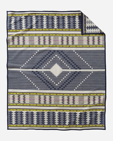SPIRIT SEEKER BLANKET, NAVY, large