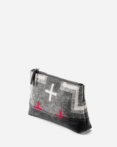 SAN MIGUEL ZIP POUCH, GREY MIX, large