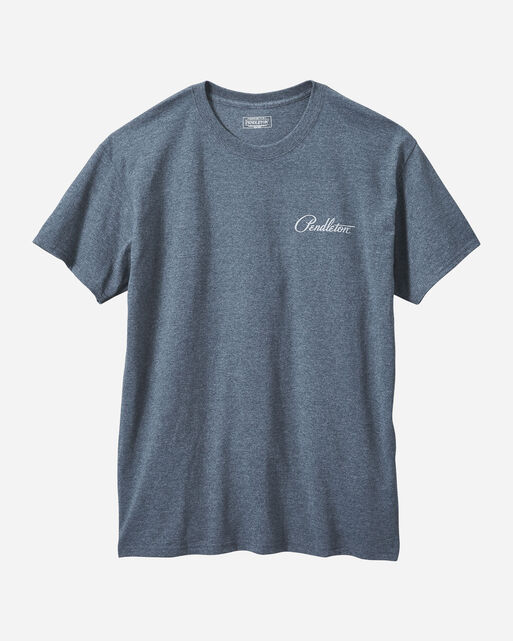 MEN'S CHIEF JOSEPH TEE IN GREY