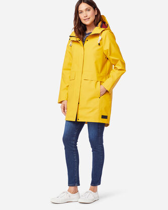ALTERNATE VIEW OF WOMEN'S PELICAN POINT WATERPROOF JACKET IN YELLOW