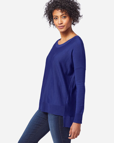 WOMEN'S MERINO EASY-FIT PULLOVER IN ULTRAMARINE