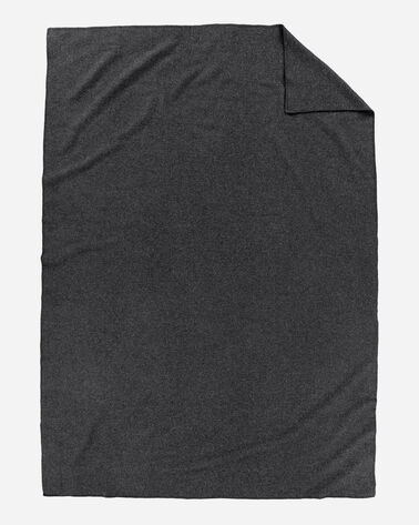 ADDITIONAL VIEW OF ECO-WISE WOOL SOLID BLANKET IN CHARCOAL MIX
