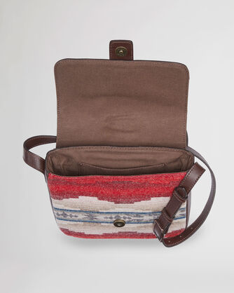 ALTERNATE VIEW OF ALAMOSA SQUARE CROSSBODY IN BROWN