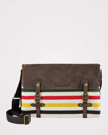 GLACIER PARK STRIPE MESSENGER BAG, PARK STRIPE, large