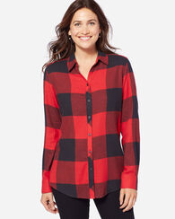 ZOEY BLOUSE, RED/BLACK, large
