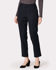 SEASONLESS WOOL ANKLE PANTS, BLACK, large