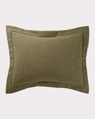 ECO-WISE WOOL EASY-CARE SHAM, CAPER, large