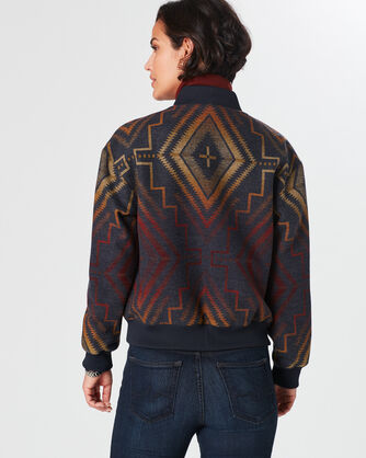 SUNRISE CROSS BOMBER, , large