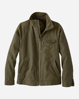 MEN'S WOLF POINT CANVAS JACKET IN OLIVE/OLIVE