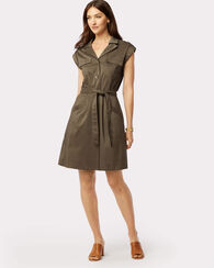 CORA DRESS, SEAGRASS, large