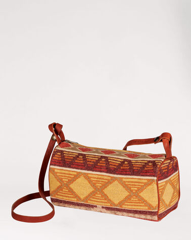 CEDAR MOUNTAIN BARREL BAG, IVORY MULTI, large