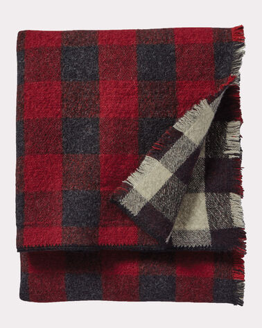 ROB ROY REVERSIBLE DOUBLE WEAVE THROW IN ROB ROY TARTAN