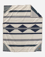 PRESERVATION SERIES: PS01 BLANKET, NAVY/WHITE, large