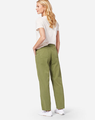CHINO TWILL PANTS, OLIVE, large