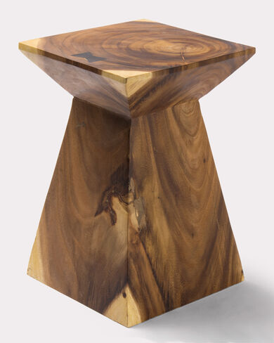 BUTTERFLY JOINT OCCASIONAL TABLE, WOOD, large