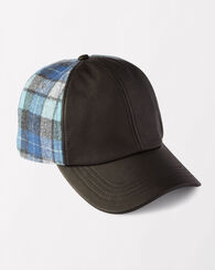 BASEBALL HAT, ORIGINAL SURF PLAID, large