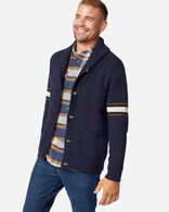 MEN'S ARCHIVE COTTON CARDIGAN IN BLUE