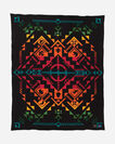 SHARED SPIRITS BLANKET IN BLACK
