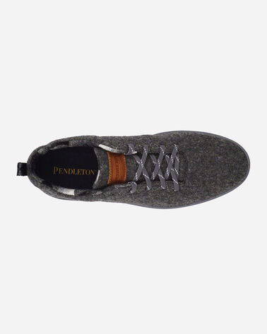 ADDITIONAL VIEW OF MEN'S PENDLETON WOOL SNEAKERS IN GREY HEATHER
