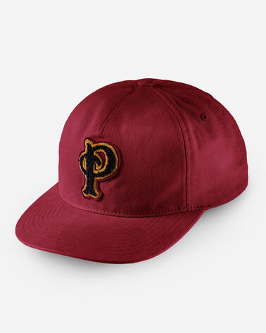 PENDLETON P PATCH HAT IN RED WINE