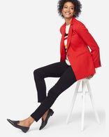 WOMEN'S SEASONLESS WOOL BLAZER, CHERRY RED, large
