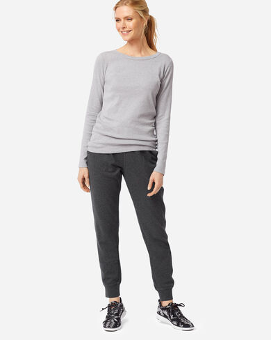 WOMEN'S JOGGER SWEATPANTS IN CHARCOAL HEATHER