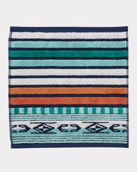 CHIMAYO SCULPTED WASHCLOTH, AQUA, large