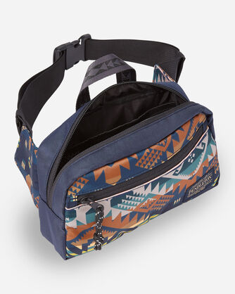 ALTERNATE VIEW OF JOURNEY WEST WAIST PACK IN SLATE