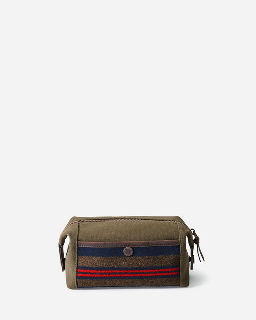 SHELTER BAY TRAVEL POUCH IN BROWN