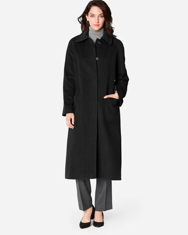 LONG REEFER COAT, BLACK, large