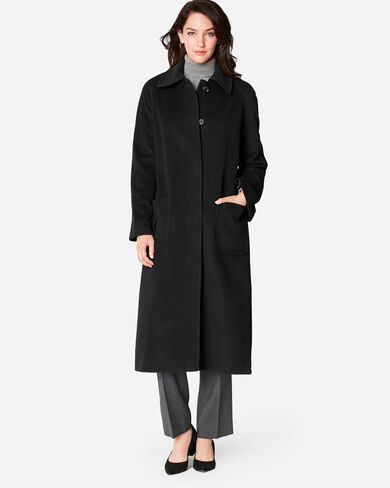 LONG REEFER COAT