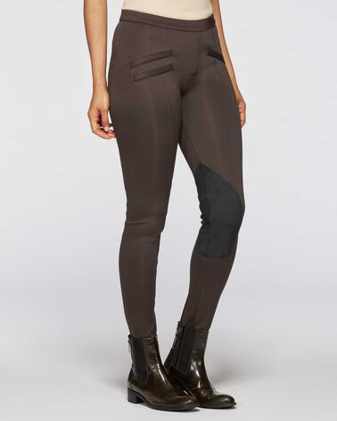 EQUESTRIAN PANTS, BROWN, large