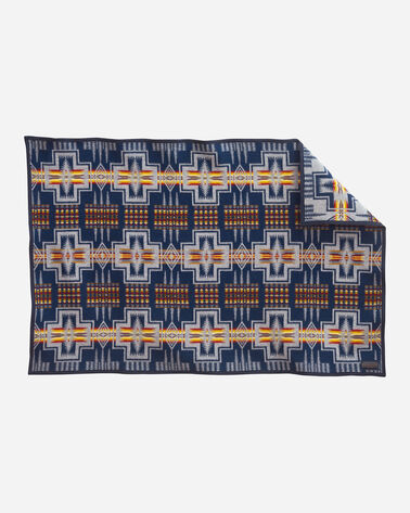 HARDING THROW IN NAVY