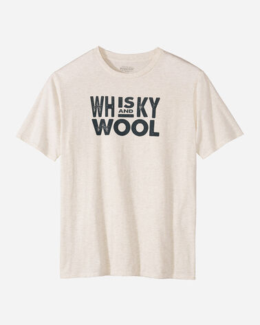 MEN'S WHISKEY AND WOOL GRAPHIC TEE
