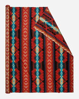 LIGHTWEIGHT COYOTE CANYON FABRIC, RED, large