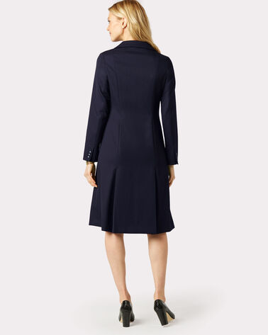 SEASONLESS WOOL FLORENCE COAT DRESS