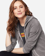 WOMEN'S MAGIC WASH MERINO HOODIE IN GREY